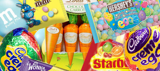 top 5 places to stock up on easter candy