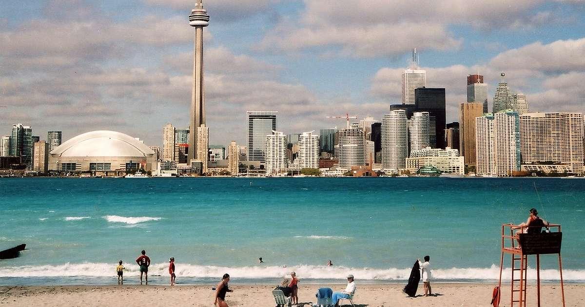 Toronto Island Beaches